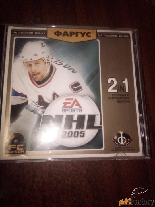 Хокей 2005 игра CD